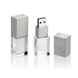 Silver Crystal Pendrive