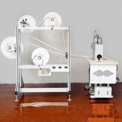Ultrasonic Semi-Auto Dust Mask Machine