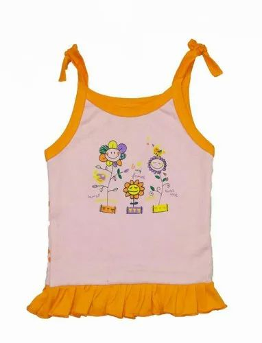 BABY GIRL CASUAL VEST WITH FREEL