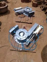 VALVES FOR ASH HANDLING SYSTEM OR PNEUMATIC CONVEY