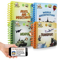Animation Augmented Reality 4D Book - Learn with Fun & Technology Helps improving Reading, Listening