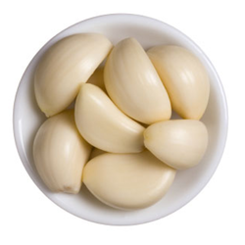organic peeled garlic cloves at rs 160 kilogram peeled garlic