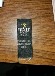 Woven Label Printing