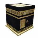 Mecca Madina Shape Quran Khana Box with Reehal