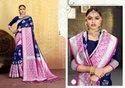 Ligalz Banarasi Silk Saree