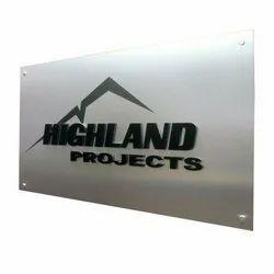 Metal Sign Board