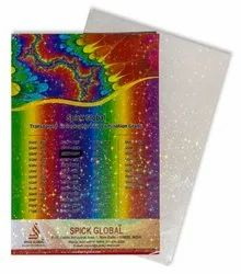 Clear Holographic Self Adhesive Cold Film