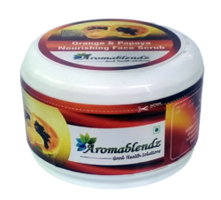 Aromablendz Orange & Papaya Moisturizing Face Scrub