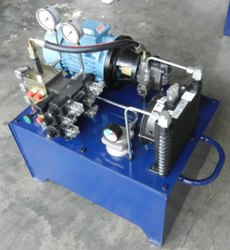 Hydraulic Power Pack For Fixture Clamping