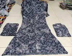 Multicolor Cotton Ladies Printed Top, Size: Large