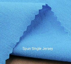 Spun Single Jersey Fabric