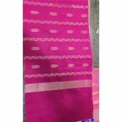 Poly Yarn Dyed Chanderi Dobby Fabric