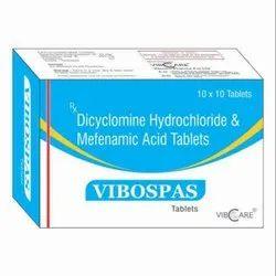 Dicyclomine Hydrochloride & Mefenamic Acid Tablets
