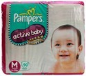 Pampers Diaper Active Baby M-90