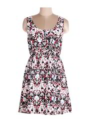 Ladies Colorful Printed Dress