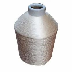 Plain White Polyester Yarn, For Textile Industry, Count: 30