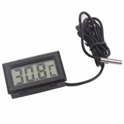 Mini LCD Digital Thermometer Sensor Wired for Room Temperature