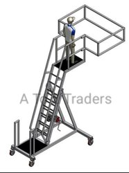 Aluminum Oil Tanker Platform Ladder