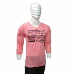 S , M Hosiery Mens V Neck T Shirt