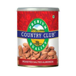Country Club Roasted Salted Almonds, Packing Size: 300 g