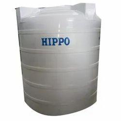 Virgin Plastic 1000L White Hippo Triple Layered Water Storage Tank, Model Name/Number:VCHI100TL
