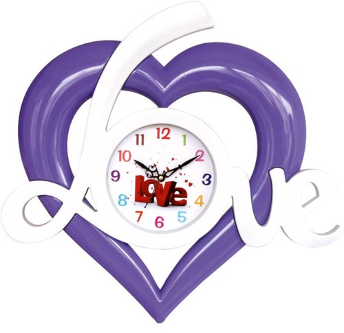 Antique Heart Shape Wall Clock