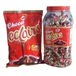Juju Chocolate Choco Eclairs Toffee, Packaging Type: Packet and Plastic Jar, Packaging Size: 200 Gram