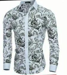 Casual Wear Semi-Formal Mens Shirt