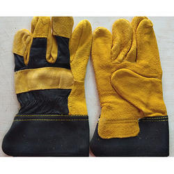 10 Leather Hand Gloves