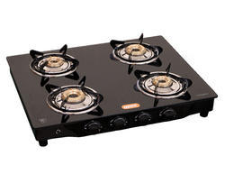 Callisto Automatic Gas Saving Glass Top 4 Burners Gas Stove