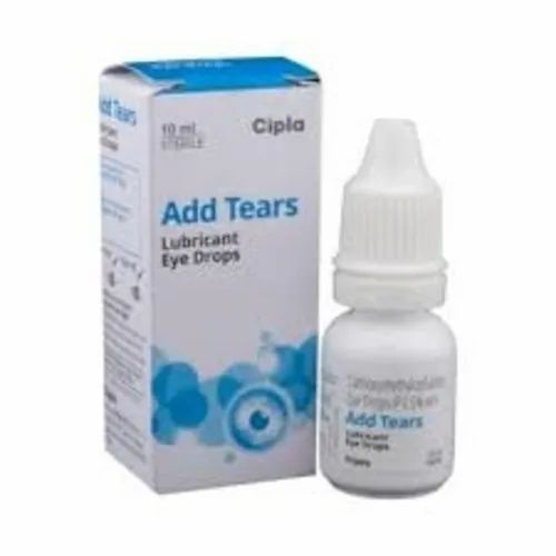 Add Tears Lubricant Eye Drops by Cipla