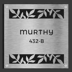 SS Etching Home Name Plates