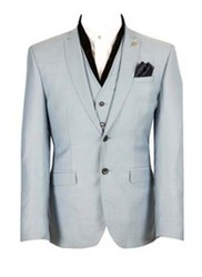 Solid Formal 3 Piece Suit