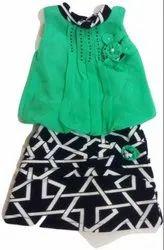 Eco Cotton Kids Skirt Top Set