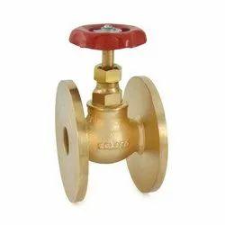 Zoloto Bronze Globe Valve