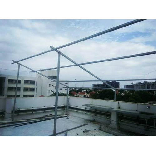 Solar Frame Mounting Structure, Solar Mounting Structure - Vide ...