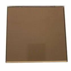 Bronze Mirror Glass, Size: 4-5 Feet