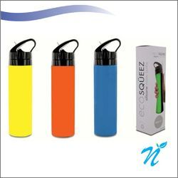 600 ml Silicone Squeeze Water Bottle