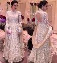 Embroidered Bridal Wear Printed Kurti