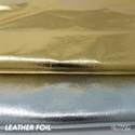 Leather Finish Foil Fabric