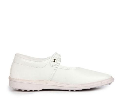 02b05e6e10e2 Prefect White Kid  s White Ballerina (n.s girl)