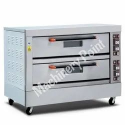 Double Deck Six Tray Electric Deck Oven
