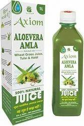 Axiom Ayurveda Jeevan Ras Aloevera Amla Herbal Juice