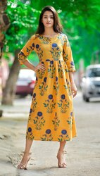 Cotton Design Ladies Kurti