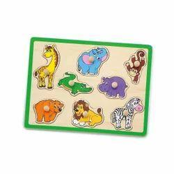 Flat Puzzle Wild Animals