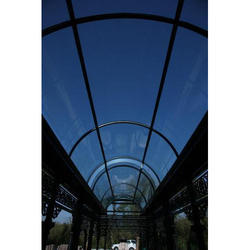 Bend Glass Canopy