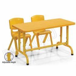 Plastic Yellow Maestro Desk