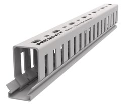 Press Fit PVC Open Slot Trunking