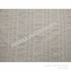Cotton Embroidered Fancy Patchwork Embroidery Fabric, for Export