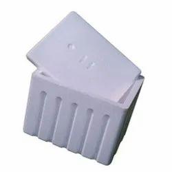 White EPS Thermocol Fish Box
